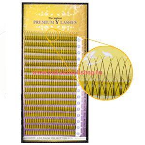 Premium Y tincses műszempilla B/C ívű 0,15 mix