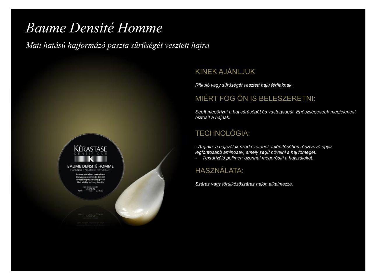 Baume Densite Homme 75ml