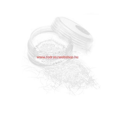 Szálas műszempilla fehér 0,2/12mm